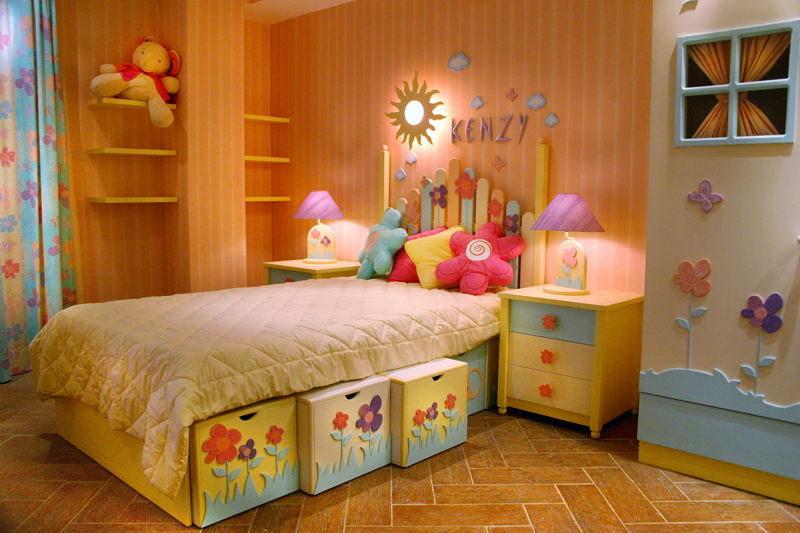 Renove o quarto das crian as gastando pouco blog mix lar - Dormitorio infantil original ...
