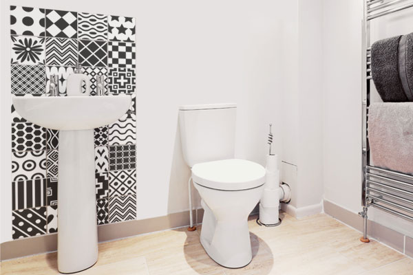 Dê um UP no Banheiro e Deixeo Lindo!!  Blog Mix Lar -> Adesivos Para Pia De Banheiro