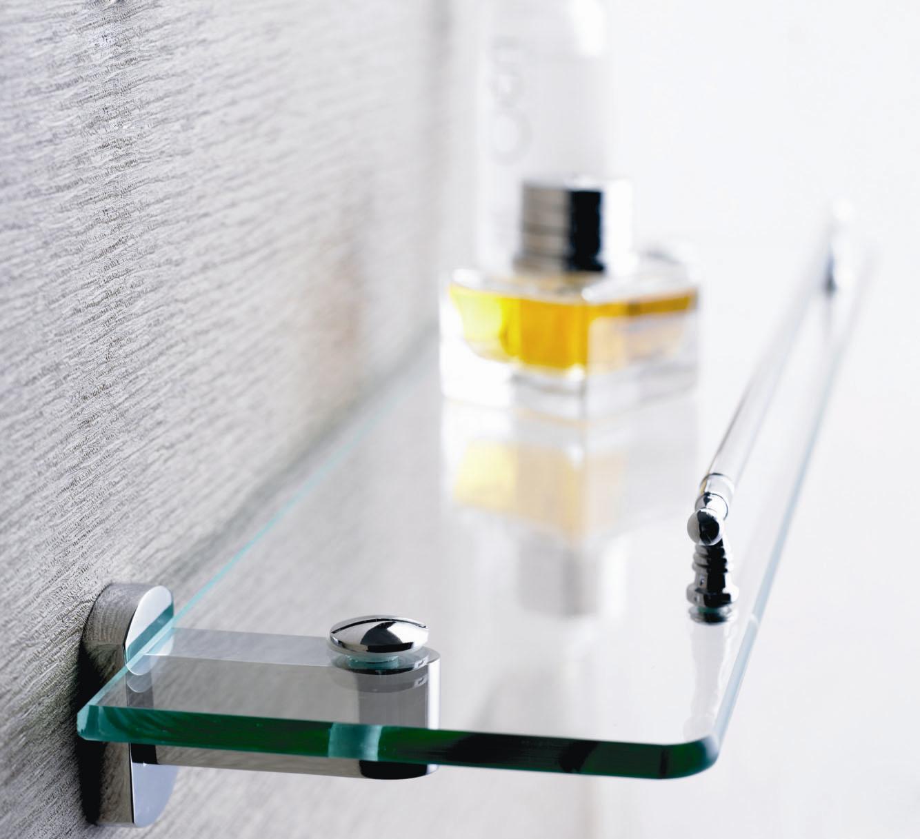 prateleira de vidro para banheiro 15 #B68815 1334 1217
