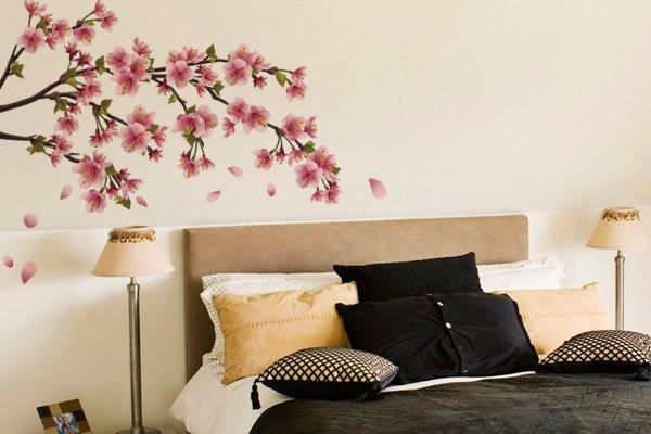 adesivo-parede-decoracao-quarto-casal-galho-flor