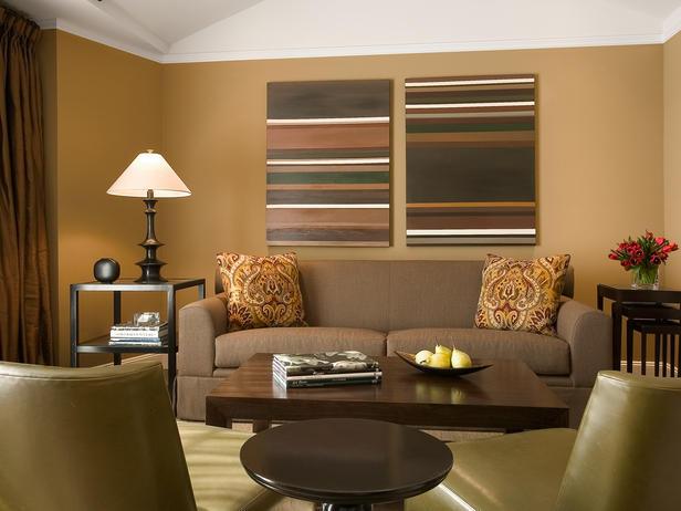sala-de-estar-cor-marrom