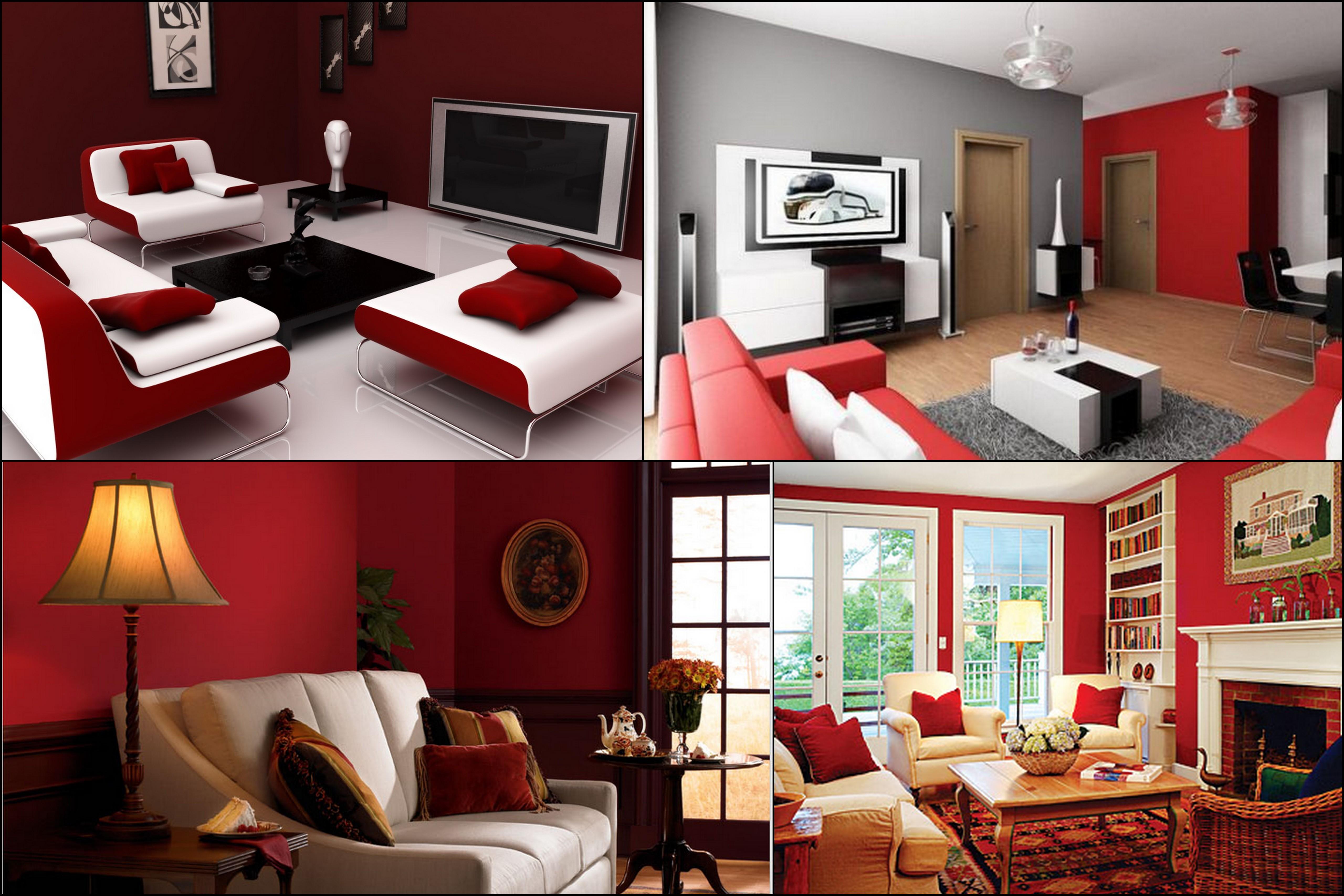 #A62526 Photo ©: www.olharmoderno.com 400 x 400 jpeg 11kB 5120x3413 píxeis em Como Decorar Sala Simples E Pequena
