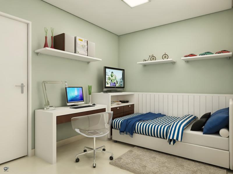 quartos decorados dicas de quartos decorados pequenos. Black Bedroom Furniture Sets. Home Design Ideas
