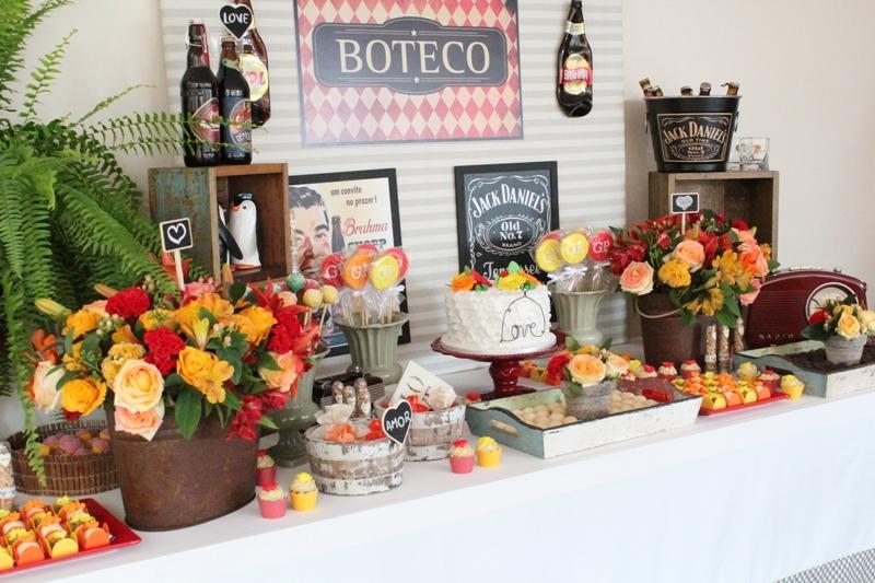 ideias decoracao boteco:Lembrancinhas e Festas: Decoração de chá-bar