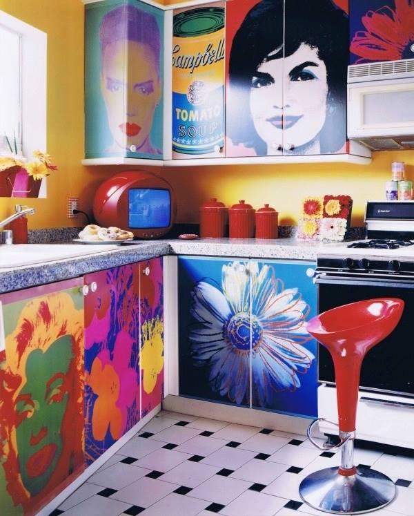 estilo de decora o conhe a mais sobre o pop art blog. Black Bedroom Furniture Sets. Home Design Ideas