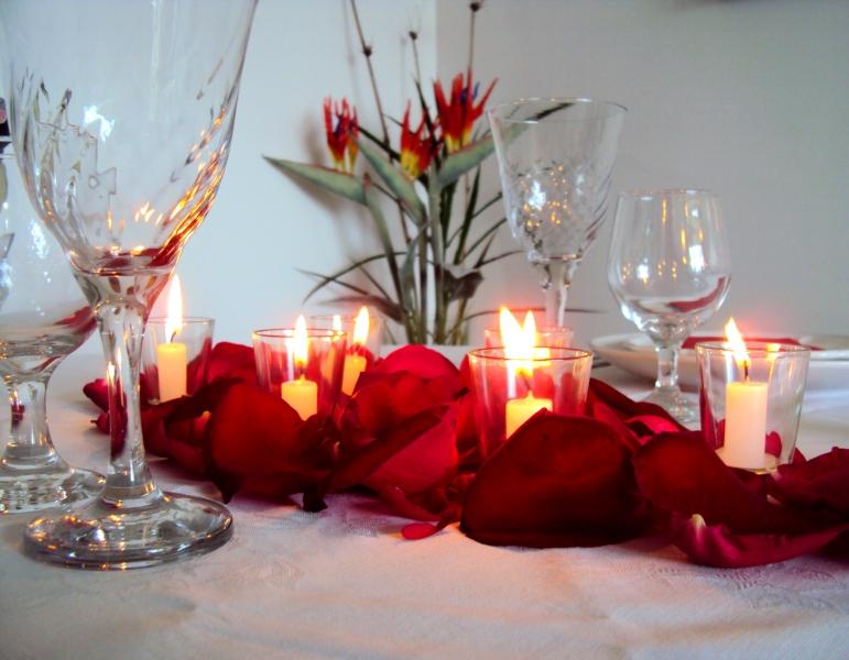 mesa dia dos namorados a
