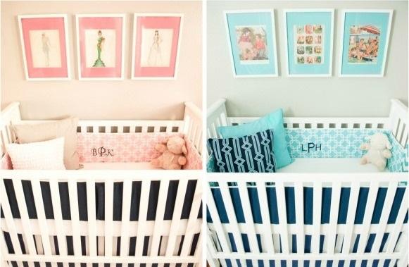 enxoval-bebe-gemeos-rosa-azul-turquesa 1