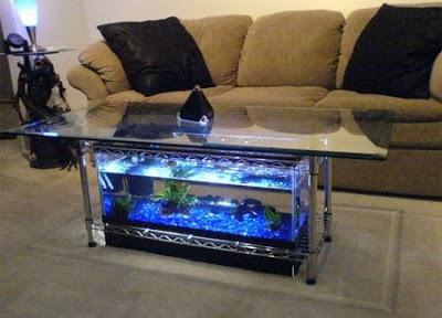 aquario mesa de centro