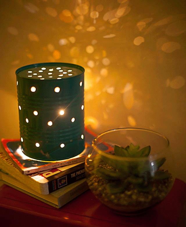 Id ias criativas para iluminar seu natal blog mix lar - Como hacer lamparas caseras originales ...