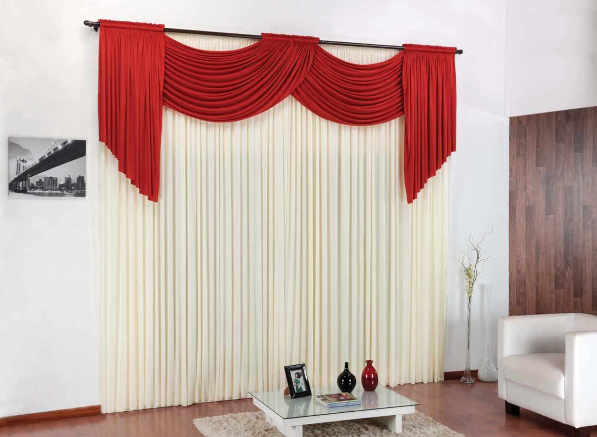 Deixe sua sala sofisticada e aconchegante com as cortinas for Modelos de cortinas