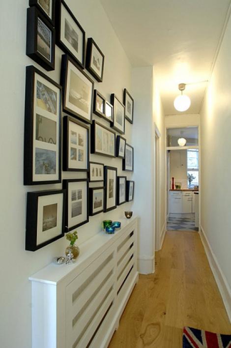 Decore seu corredor com estilo e bom gosto blog mix lar - Decoracion de paredes de pasillos ...