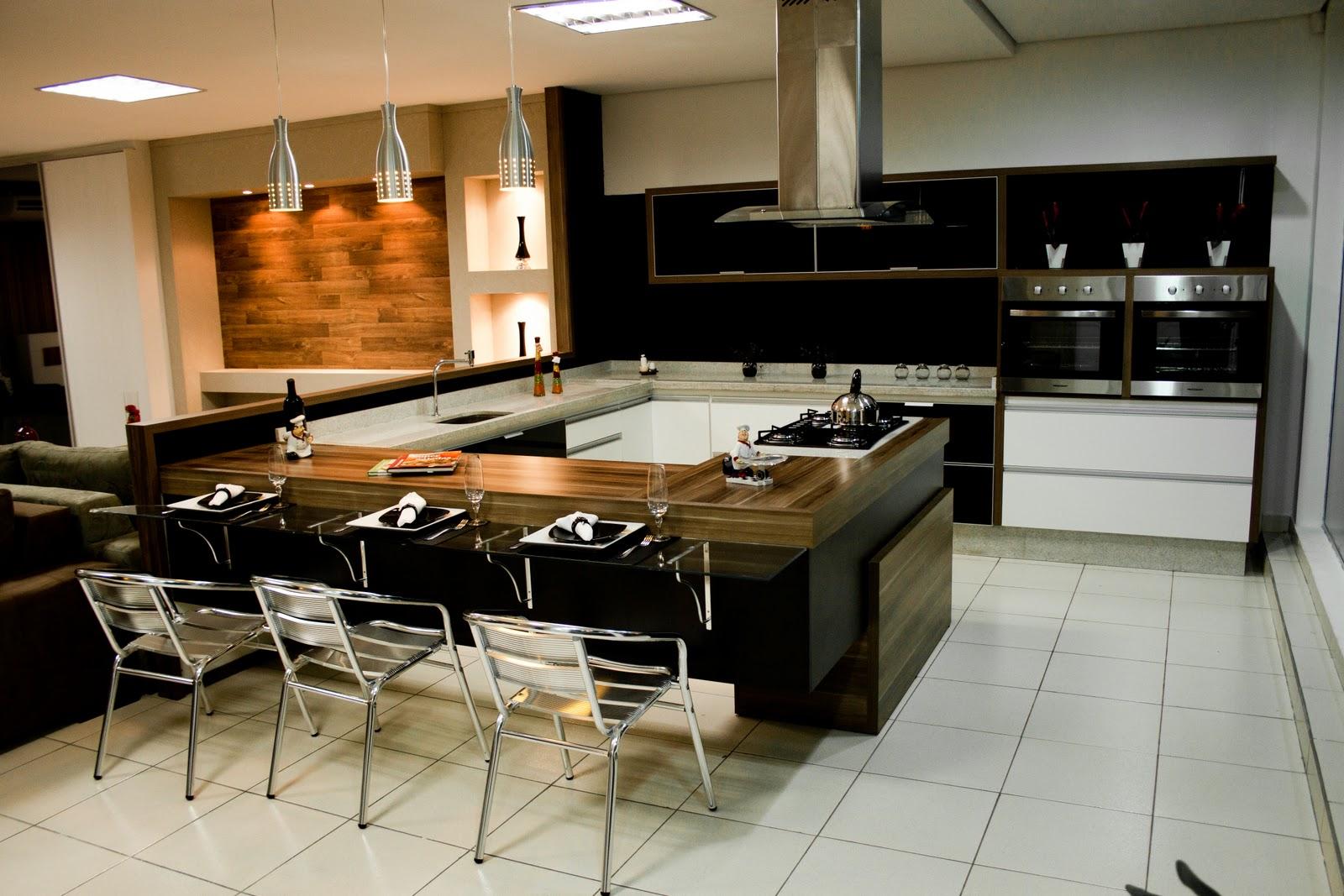 Cozinha Planejada Com Mesa De Vidro Oppenau Info