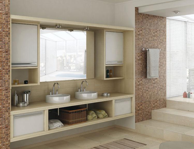 Móveis Planejados Vale a pena o investimento!!  Blog Mix Lar -> Banheiros Planejados Grandes