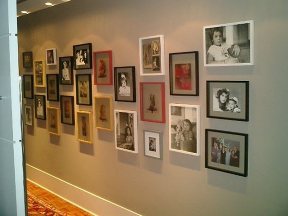 Ideias fant sticas para decorar um im vel alugado gastando - Decoracion de paredes de pasillos ...