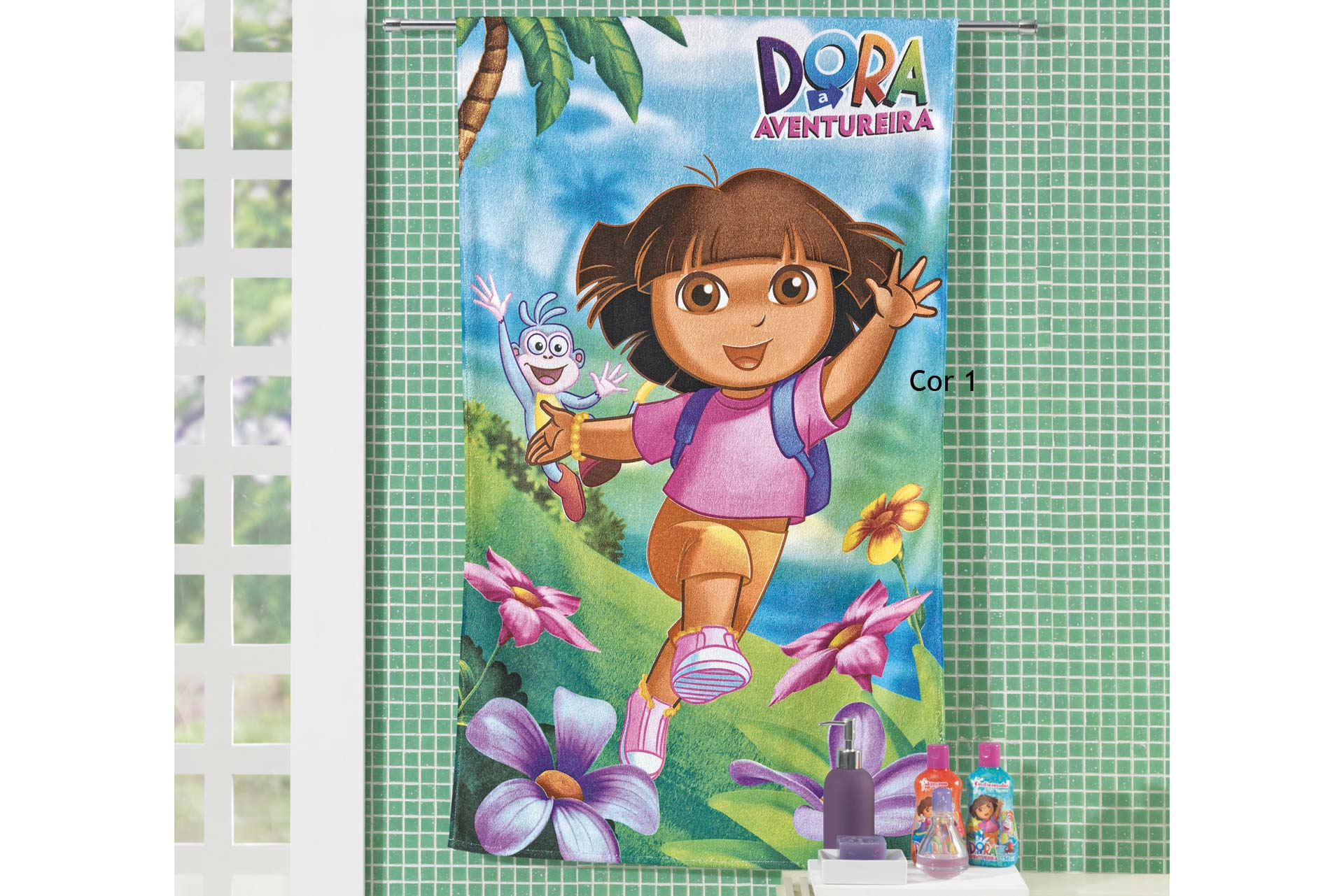 Cod. 4805 - Banho Dora Aventureira -   Cor 1