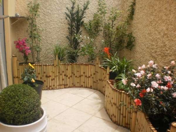 cerca artesanal para jardim