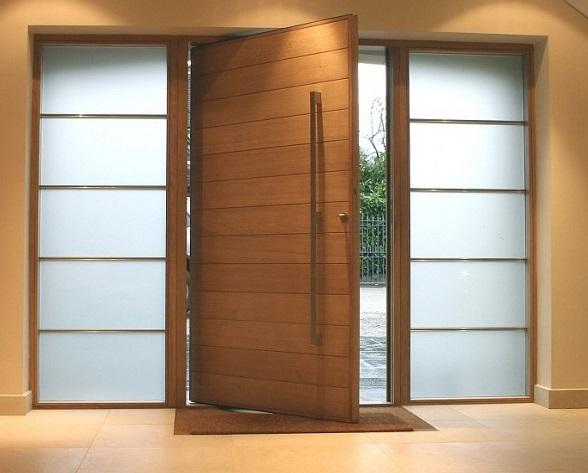 Portas para a casa conhe a os modelos para cada c modo e for Modelos de puertas de madera para frente
