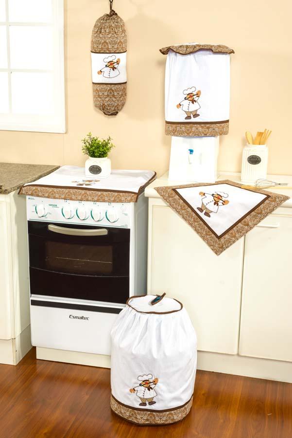 Cod. 5100 - 5092 - 5093 - 5098 - Acessórios de Cozinha Cheff - Cor 1