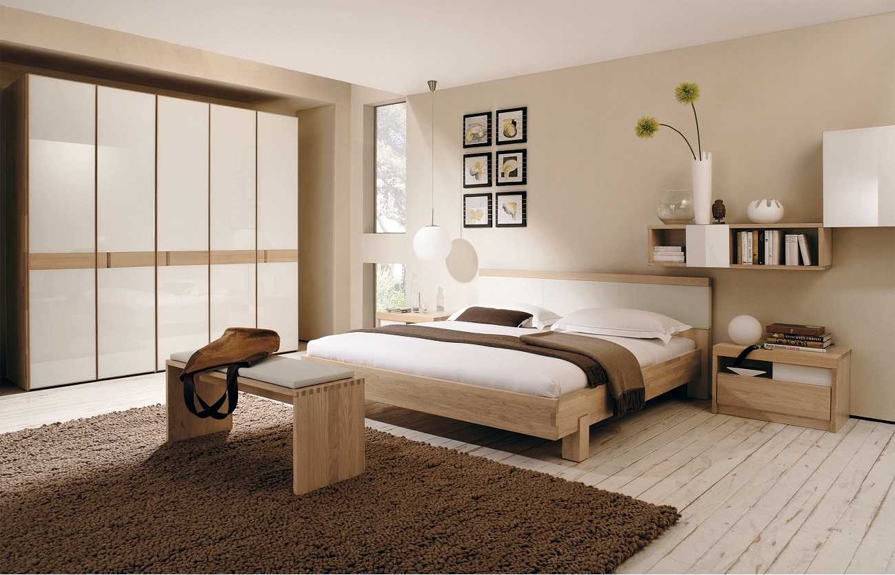 Chambre Moderne Taupe