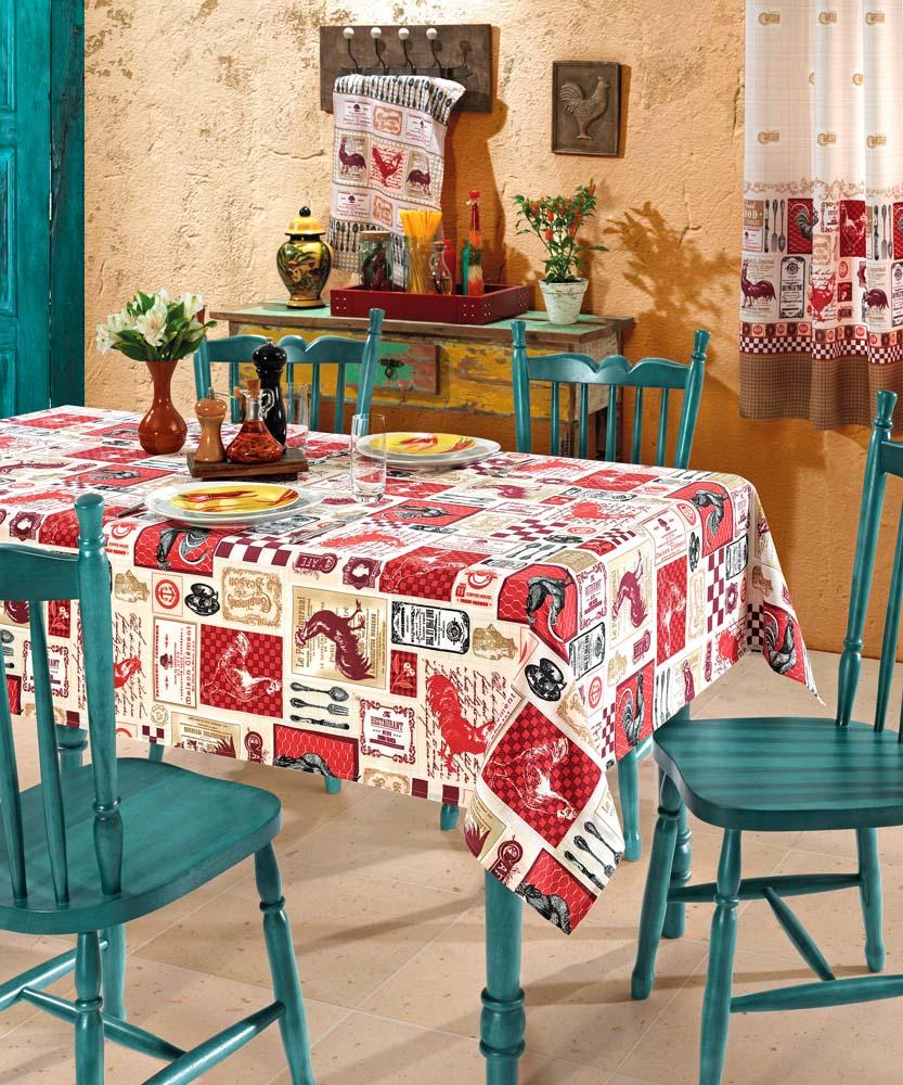 Cod. 5298 - 5299 - 5300 - Toalha de Mesa Gourmet - Cor 1
