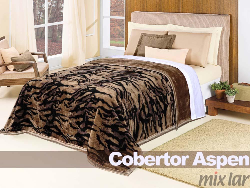 Cod. 3697 - 3698 - Cobertor Aspen Casal - Cor 31