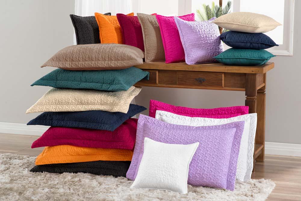 Porta Travesseiro e Capa para Almofada Básico - Cor 1-3-4-5-6-7-8-9-12-14